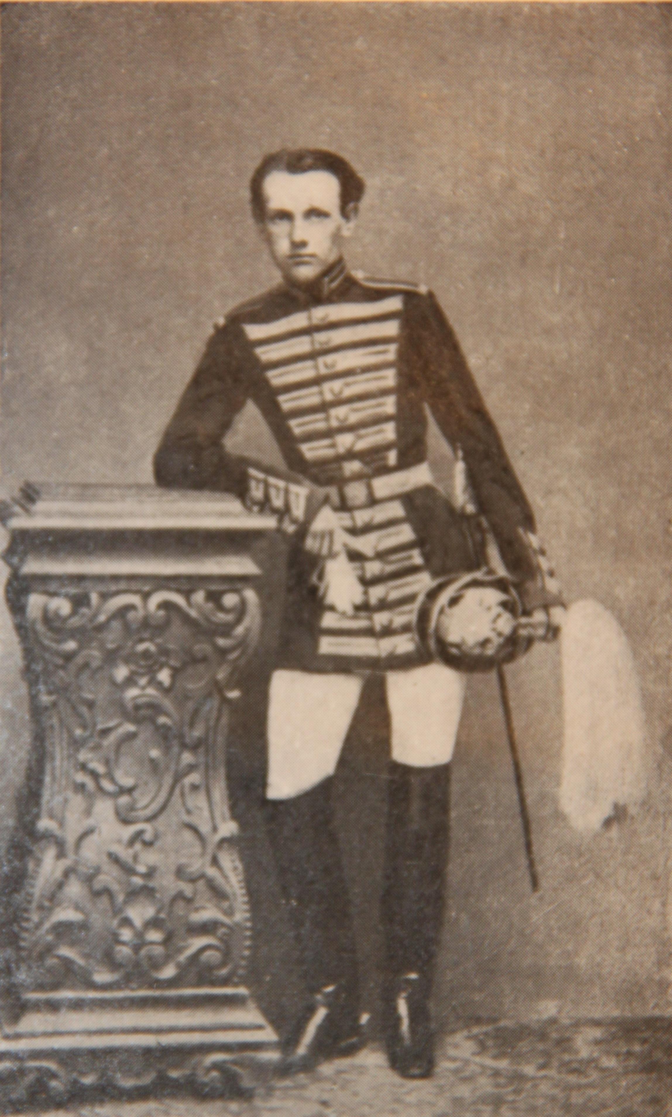 П.А.Кропоткин в костюме камер-пажа, 1861 год