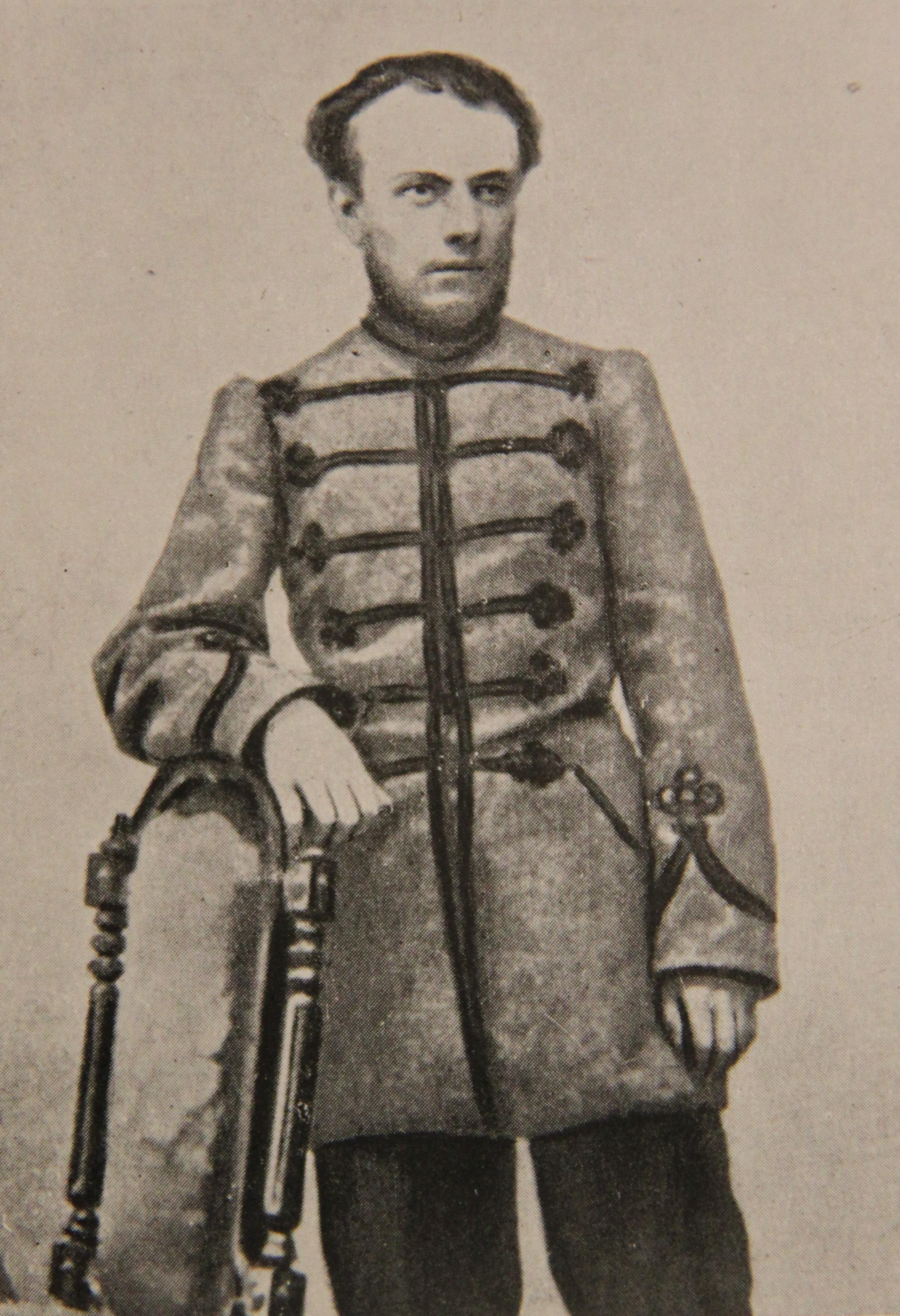 Александр Алексеевич Кропоткин, брат П.А.Кропотикна, 1861 год