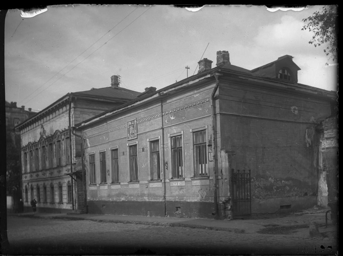 Дом П.А.Кропоткина в Малом Власьевском пер. №8